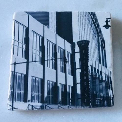Single Marble Art Coasters - Bankers Life Fieldhouse