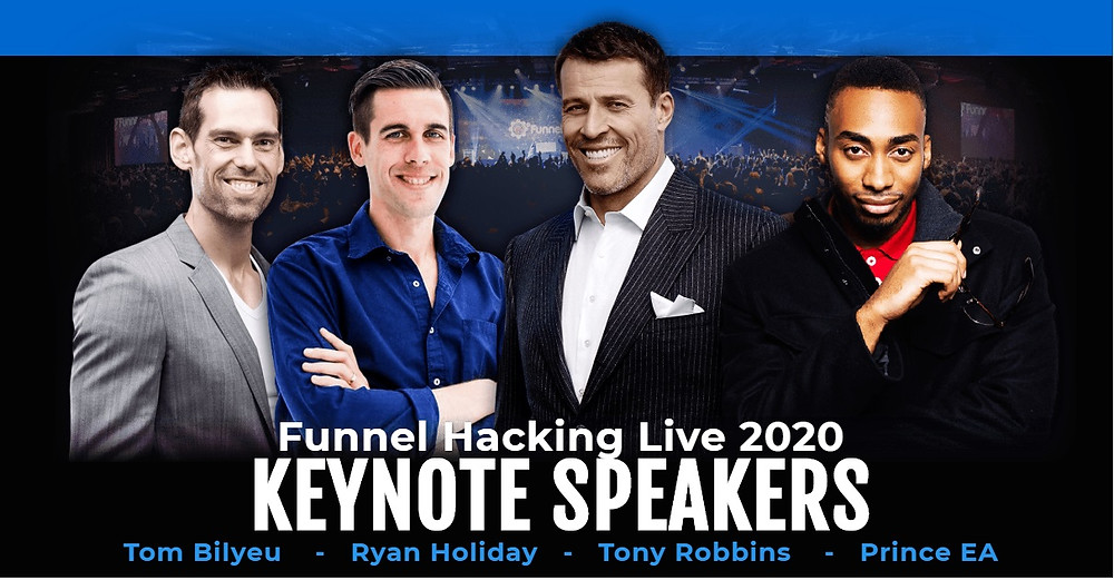 Clickfunnels scam? Clickfunnels and Tony Robbins, Clickfunnels Funnel Hacking Live Event