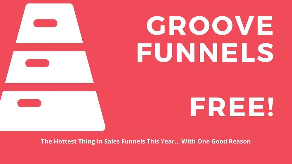 Groovefunnels is Free, Groove Funnels sales funnel builder, Groovefunnels website builder