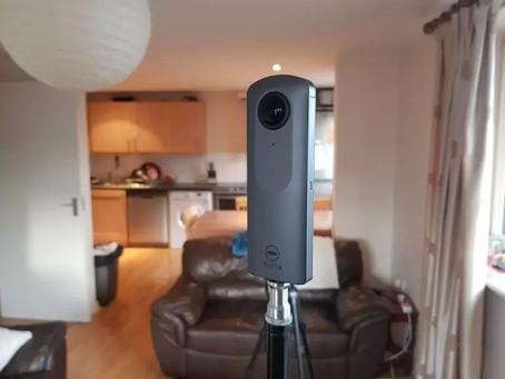 Câmara tradicional vs Câmara 360 para Virtual Tour. Vantagens e desvantagens.