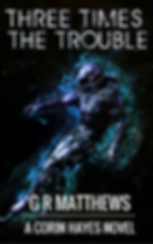 Cover for Three Times The Trouble