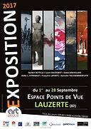 Expo Françoise Laporte Espace Point de Vue à Lauzerte