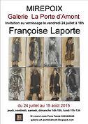 expo Françoise laporte à Mirepoix