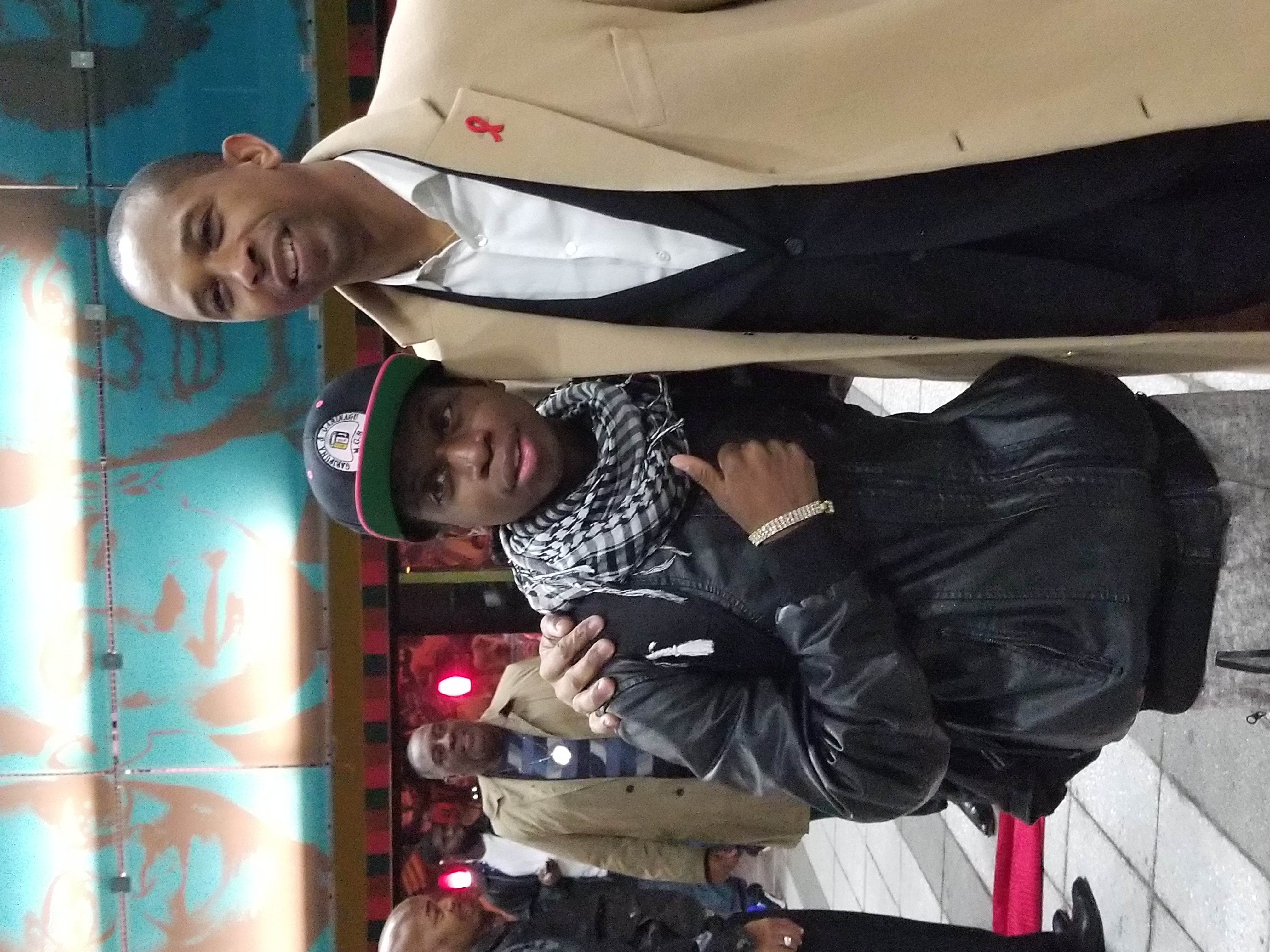 Assemblyman Walter Mosley and Youth