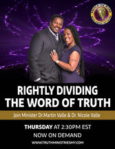 Rightfully Dividing the Word of Truth