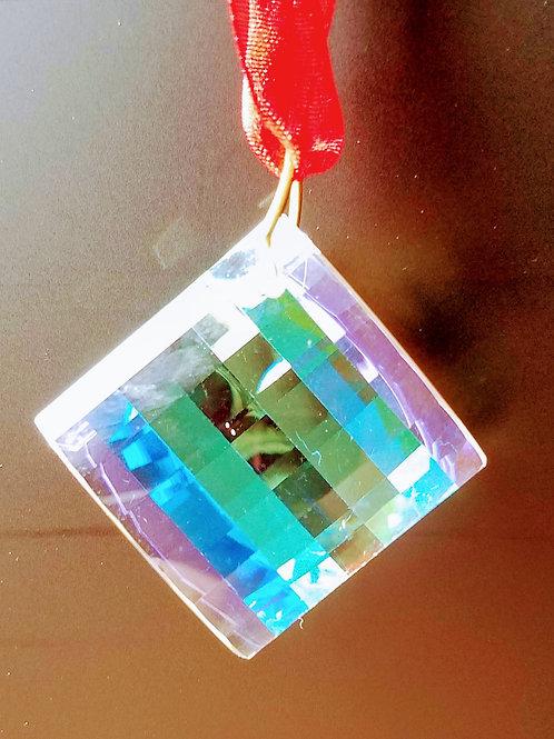 Environmental Yin Yang Crystal