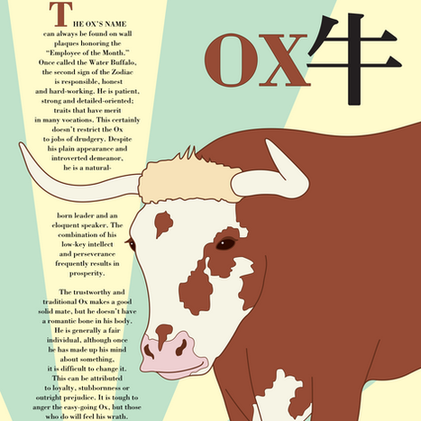 Ox Poster