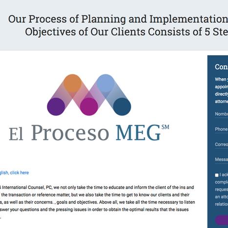 The MEG Process Logo