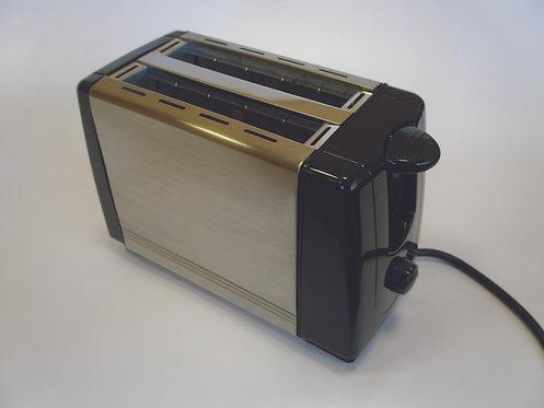 Swiss Luxx Stainless Steel Caravan Toaster - 700 Watts