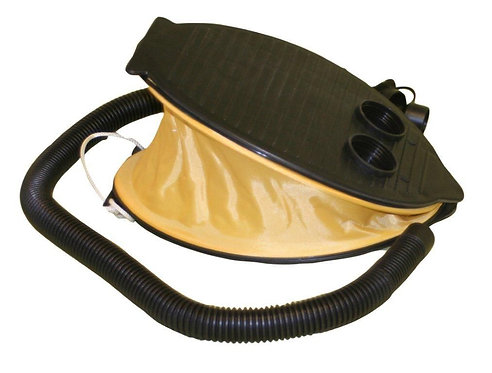 QUEST LEISURE 3 LITRE FOOT PUMP / INFLATOR