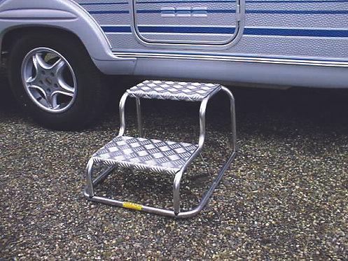 The Original Aluminium Double Step Milenco