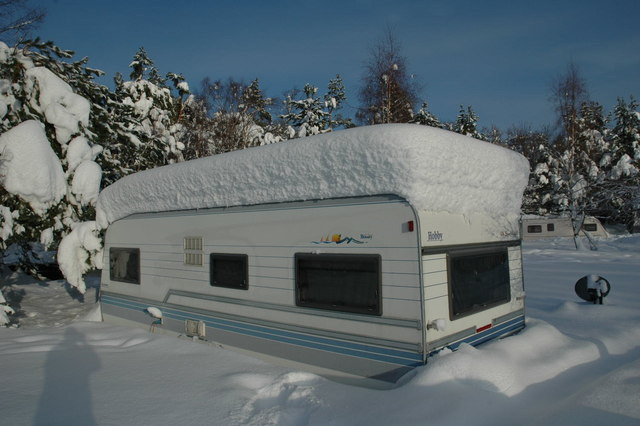 Storing Your Caravan Over Winter