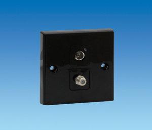 Tv & Satellite Socket