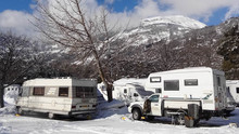 Tips for Winter Caravanning