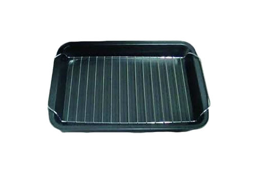 Quest Roasting Dish with Shelf