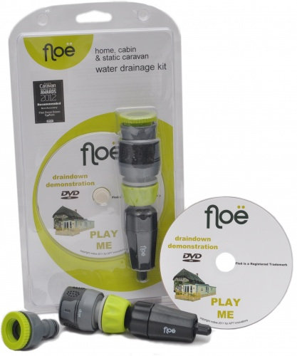 Floe Water Drainage System (home, cabin, static)