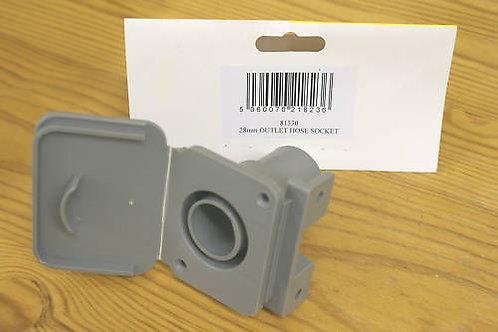 28mm Outlet Hose Socket - 81330