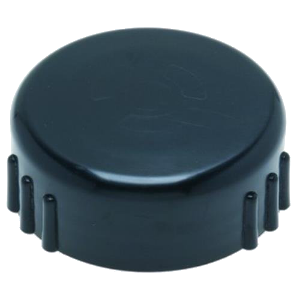 Dometic Toilet Discharge Screw Cap + Seal Black