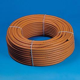 ORANGE 8MM GAS HOSE (PER METRE)