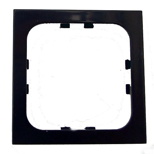 GLOSS BLACK SINGLE FACEPLATE FRAME for C-LINE CBE