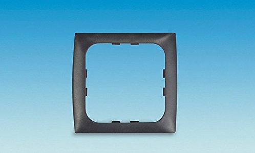 C-line Black 1 Way Face Plate PO295