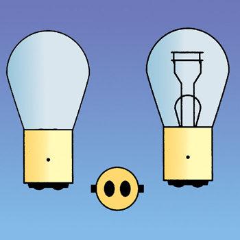 BAY15D 21/5W Autolamp