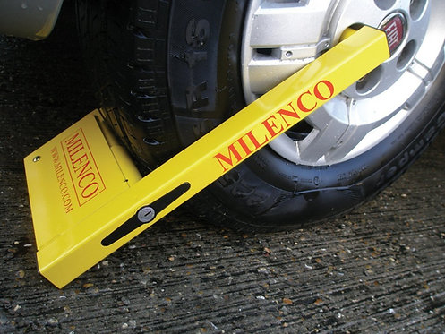 """Milenco Compact Wheel Clamp - Fits 12""""-16"""" Alloy & Steel"""