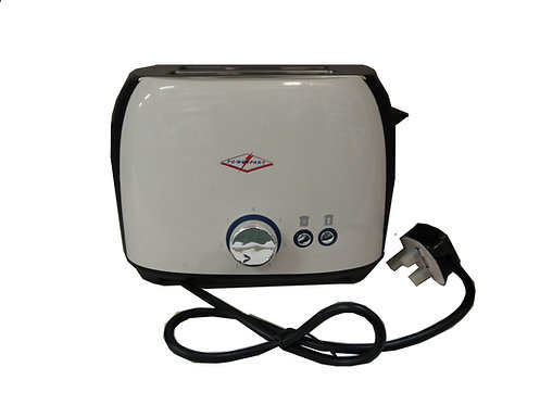 PowerPart 2 Slice Cool Wall Electric Toaster 800W