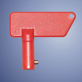 Spare Red Isolator Key
