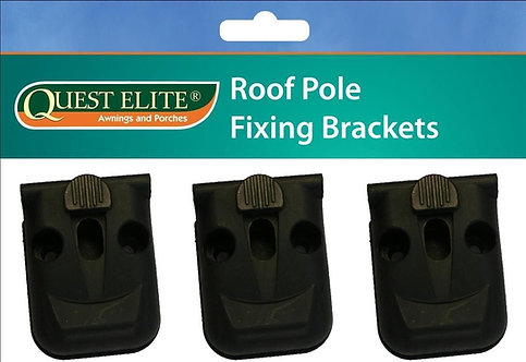 Quest Leisure Roof Pole Brackets (Pack of 3)
