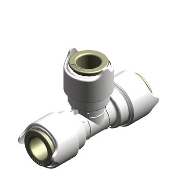 New Whale System 12mm Equal Tee Connector - WU1202