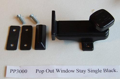 Caravan Window Stay. Pop Out Type. PP3000
