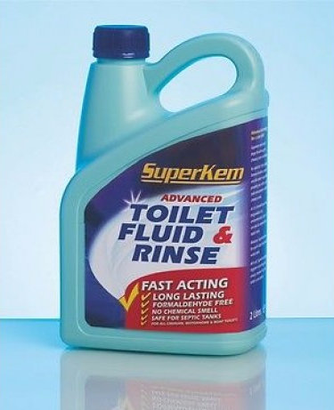 Super Kem Toilet Fluid & Rinse 2L