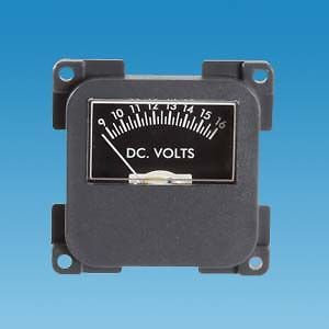 Powerpart C-Line 12 Volt Meter - PO248