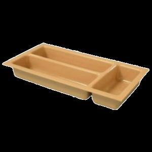 Slim Cutlery Tray (Beige)