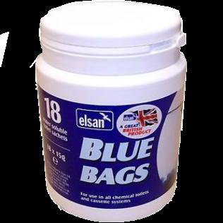 Elsan Chemical Caravan Toilet Blue Bags Motorhome