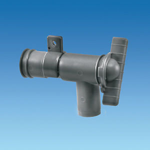 Grey 28mm Drainage Tap Waste Water 88752G