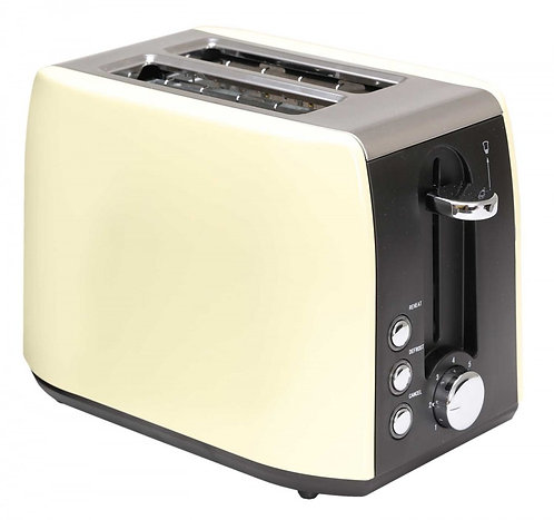Quest 2 Slice Stainless Steel Toaster Cream