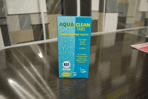 Aqua Clean Tabs Water Purification Water Tablets