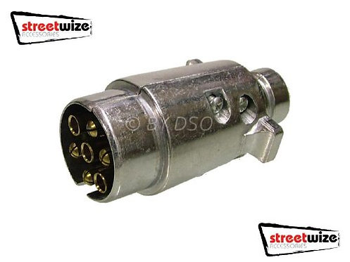 Streetwise 7 Pin Lighting Connection Metal Plug