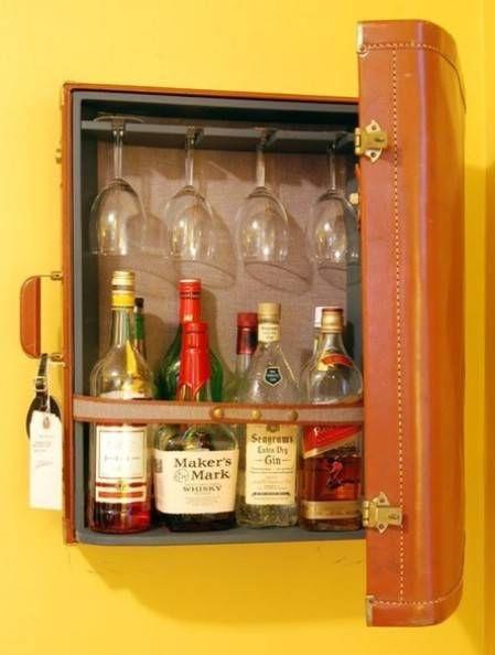 wine glass storage caravan