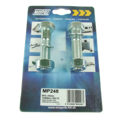 Maypole Nut&Bolt M16 X 65Mm Dp - MP248