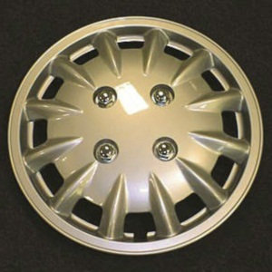 "14"" Silver Wheel Trims Pairs"