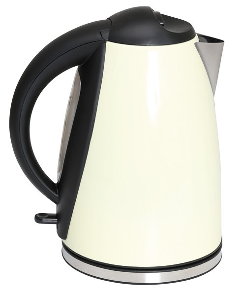 Quest 1.8L Stainless Steel Kettle Cream