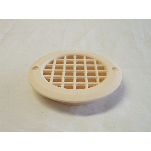 Round Short Tail Vent 75mm (Ivory)
