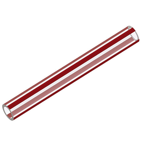 WX7114 RED TUBE 12mm x 8.5mm (per metre)