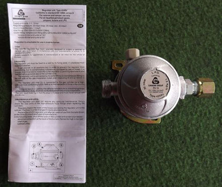 PROPANE LOW PRESSURE GAS REGULATOR 30 mbar TYPE 42