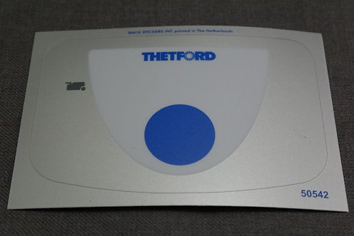 Thetford Cassette Toilet C250 Overlay Sticker
