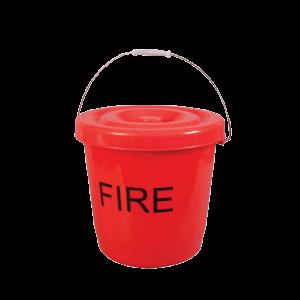 Kampa 15 Litre Plastic Fire Bucket With Lid