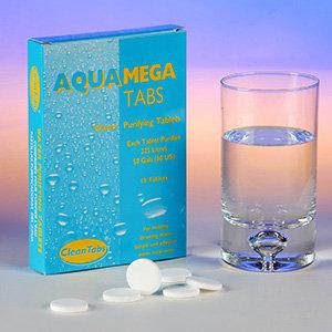 Aqua Mega Tabs (Box of 18 tablets)